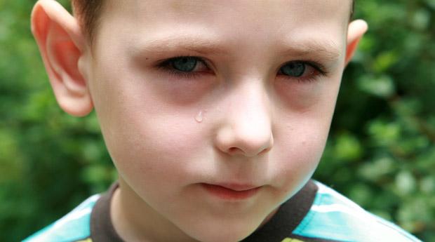 Под глазом у ребенка