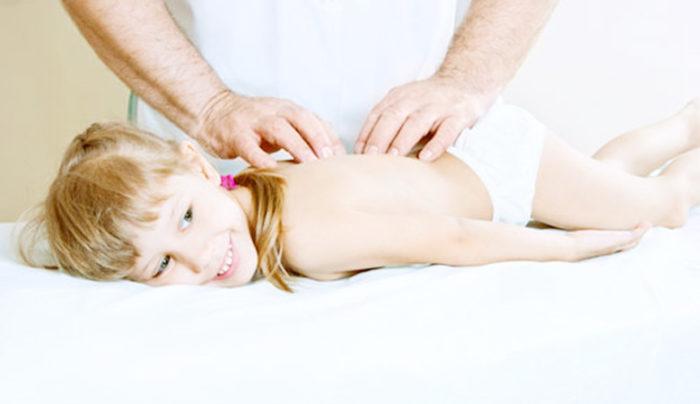 Как сделать ребёнку массаж